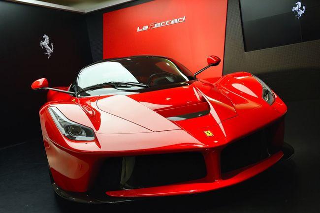 Boys' Red MeinAutomoment Ferrari LaFerrari HongKong Boys' Dream Bromance Red Favourite Car Hybrid Cars Dream Car