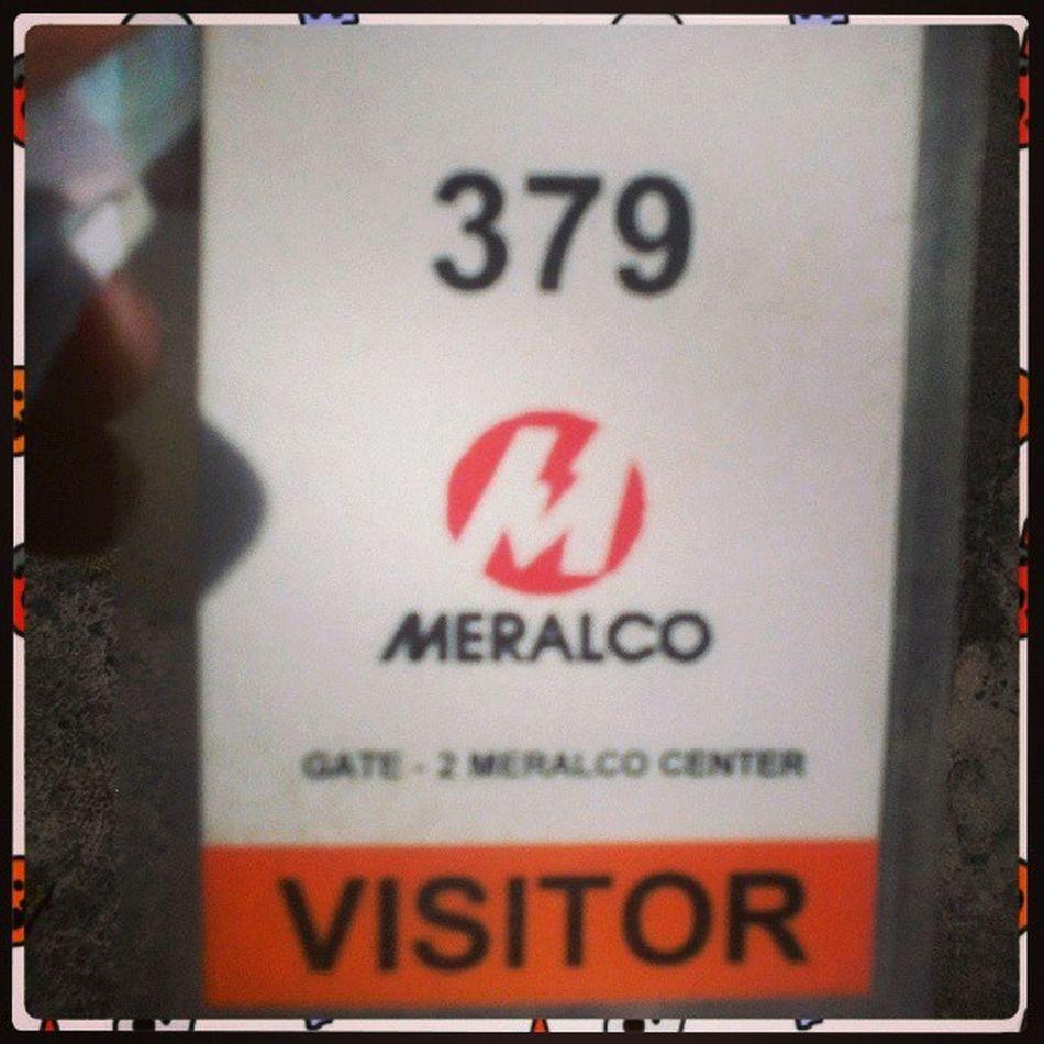 HIRED ! *Again* hahaha. Meralco MIESCOR Logistics Ojt .