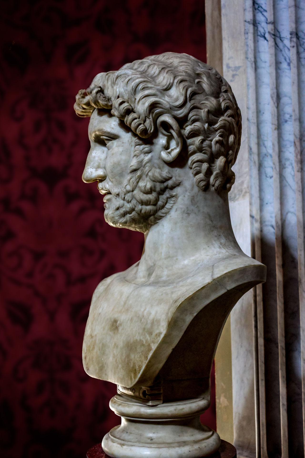 Publio Elio Adriano Adriano Close-up Esculturas Esculturas Y Estatuas Esculturasrealistas Romanos Rome, Italy Sculpture Statue