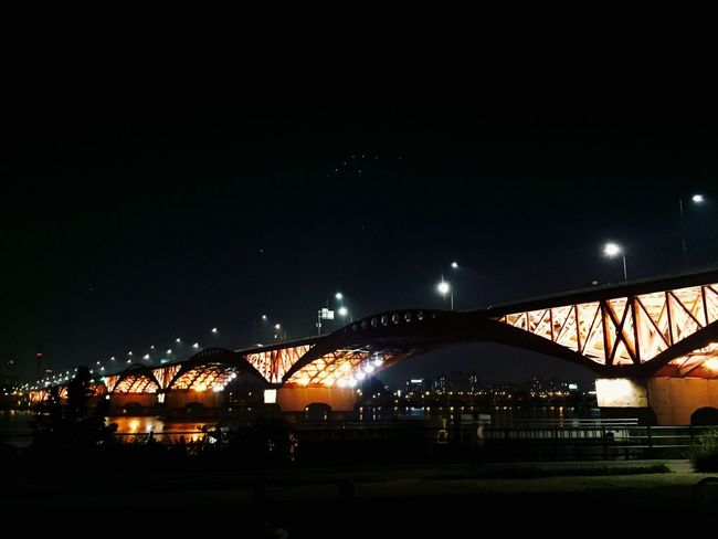 Healing Hangang River Travel Hangang Bridge Iphone6 Healing Place