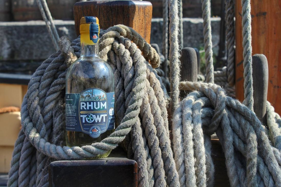 Nautical Vessel Harbour Tourism Travel Destinations Rope No People Hanging Day Outdoors Close-up Charlestown, Cornwall, UK Ship Rum Pirates Pirate Ship