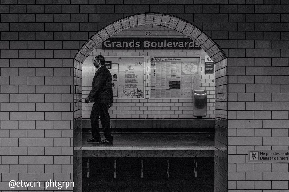 Metro L'inconnu Grands Boulevards