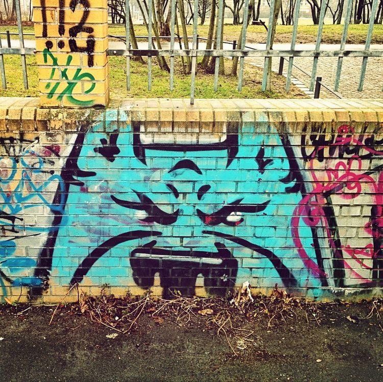 Blueyellowgreenorangeblue Pikachu Graffiti Street Art