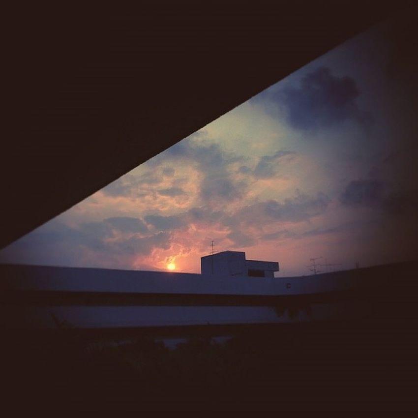 Hello sun!!! Sunrise Lomography
