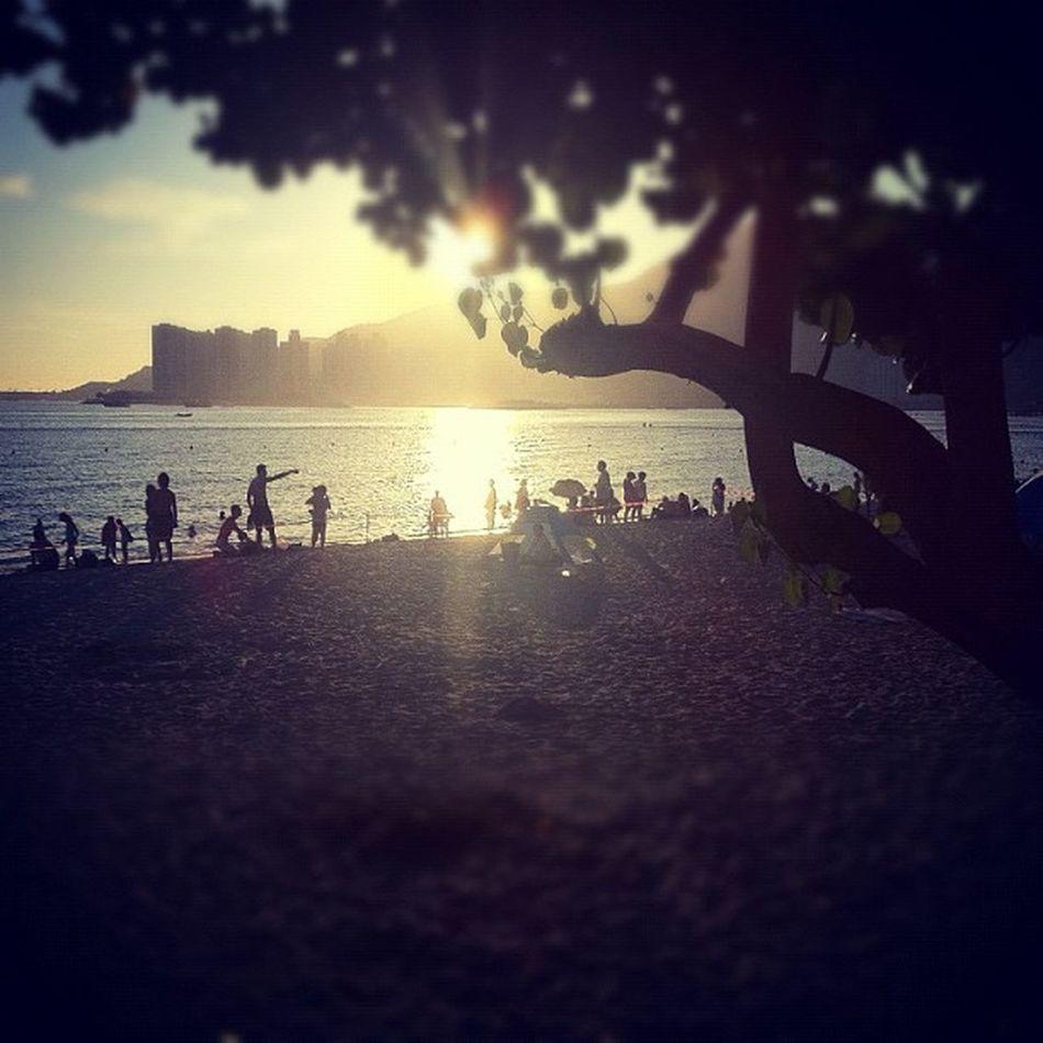 Beach Sunset HongKong Tuenmun