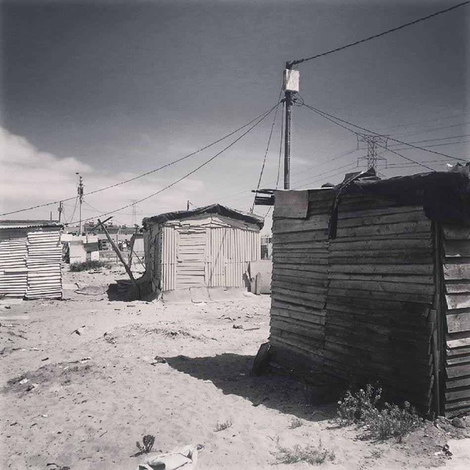 Langa settlements Informal Blikkiesdorp