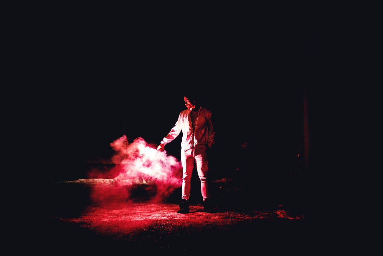 Red Standing Night Outdoors Ottawa,Ontario,Canda Createcommune Createdaily Model Createexploretakeover Ottawa Portrait Cold Temperature