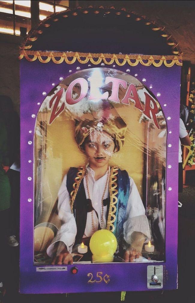 Happy Halloween Zoltar