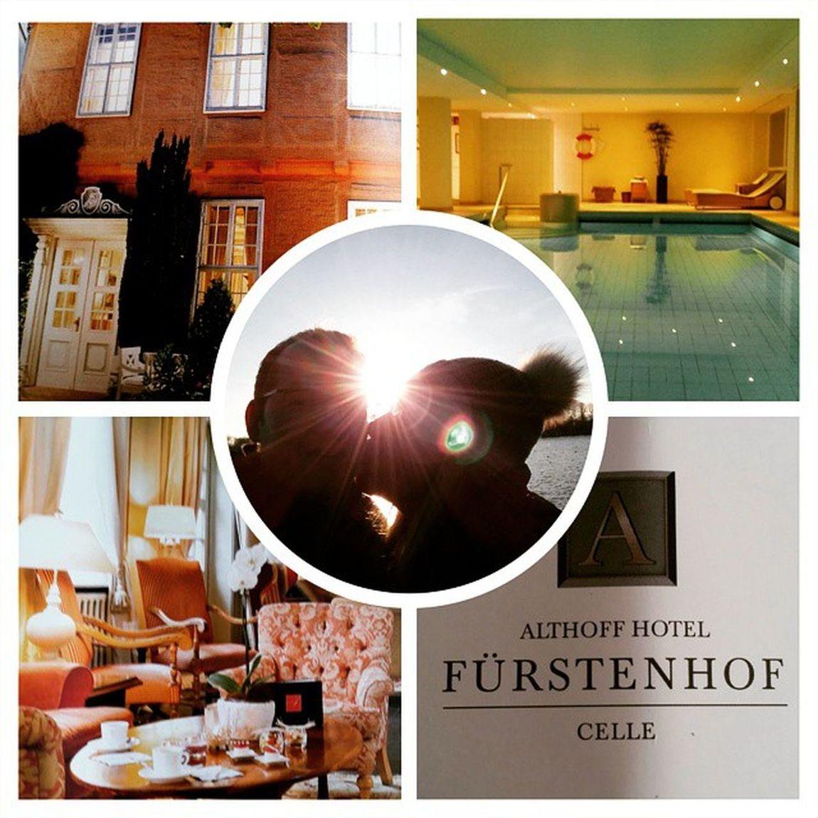 Traumhaftes Wochenende @ Fürstenhof Celle 😃 AlthoffCollection Pool