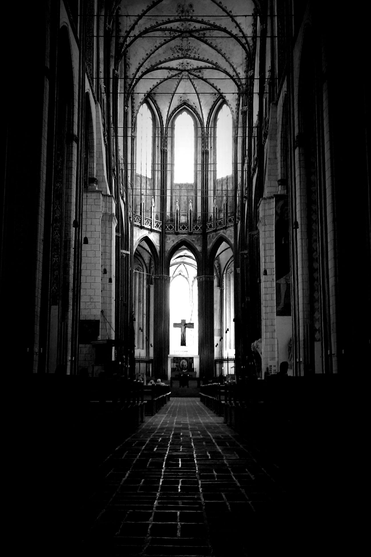 Light And Shadow Eye4photography  Darkness And Light Blackandwhite Eye4black&white  Black & White Monochrome Churchporn Church Architecture_collection Fortheloveofblackandwhite Old Buildings Architecture_bw Black&white