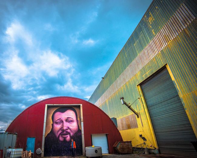 🔸Rapper Action Bronson🔸 Check This Out ActionBronson Eyeemphotography Streetphotography Streetart Gautehaugland Wideanglephotography Wideangle Portrait Norway Rosendal Home Is Where The Art Is