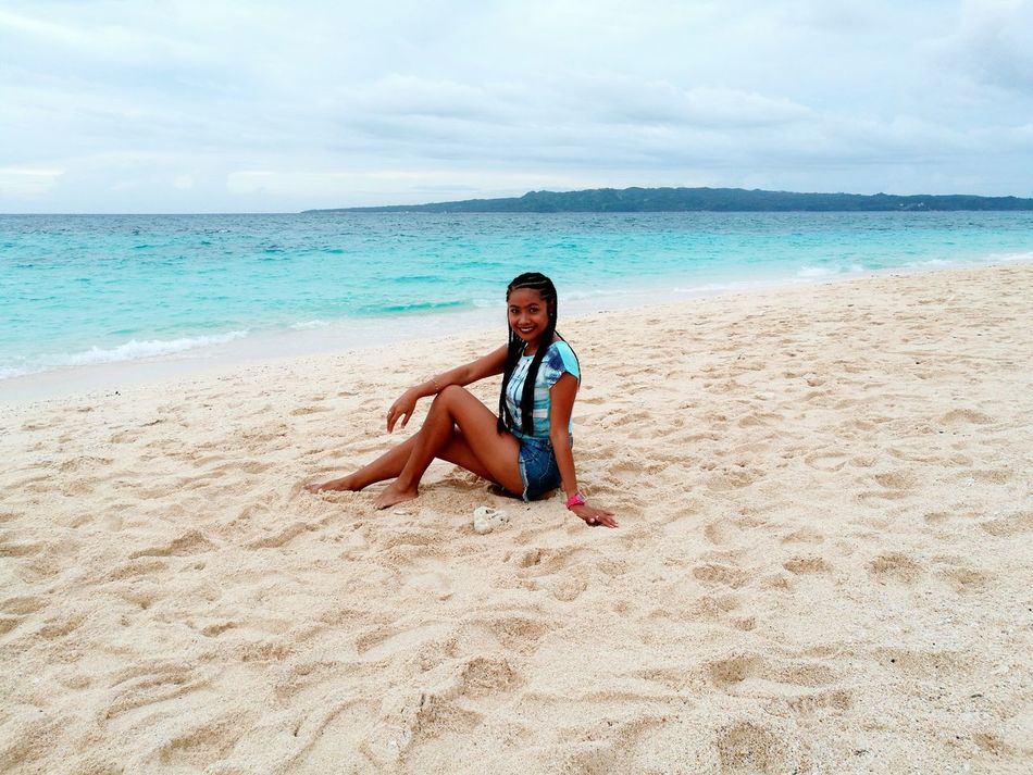 me Darker Days Beach Vacations Looking At Camera Outdoors Smiling Happiness Beauty Beautiful ♥ Beaches Of The Philippines Boracay Island, Philippines