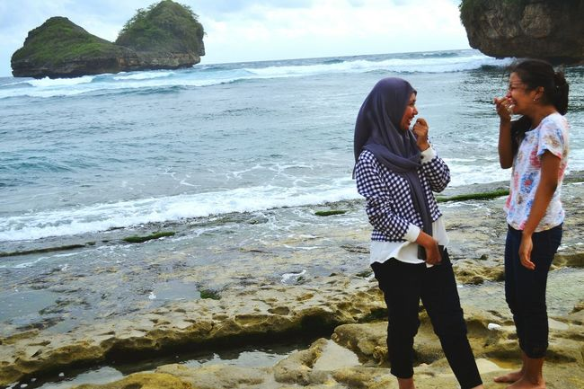 Batu Bengkung Beach Paradise Beach Besties Holiday Trip My Trip My Adventure Laughing Out Loud