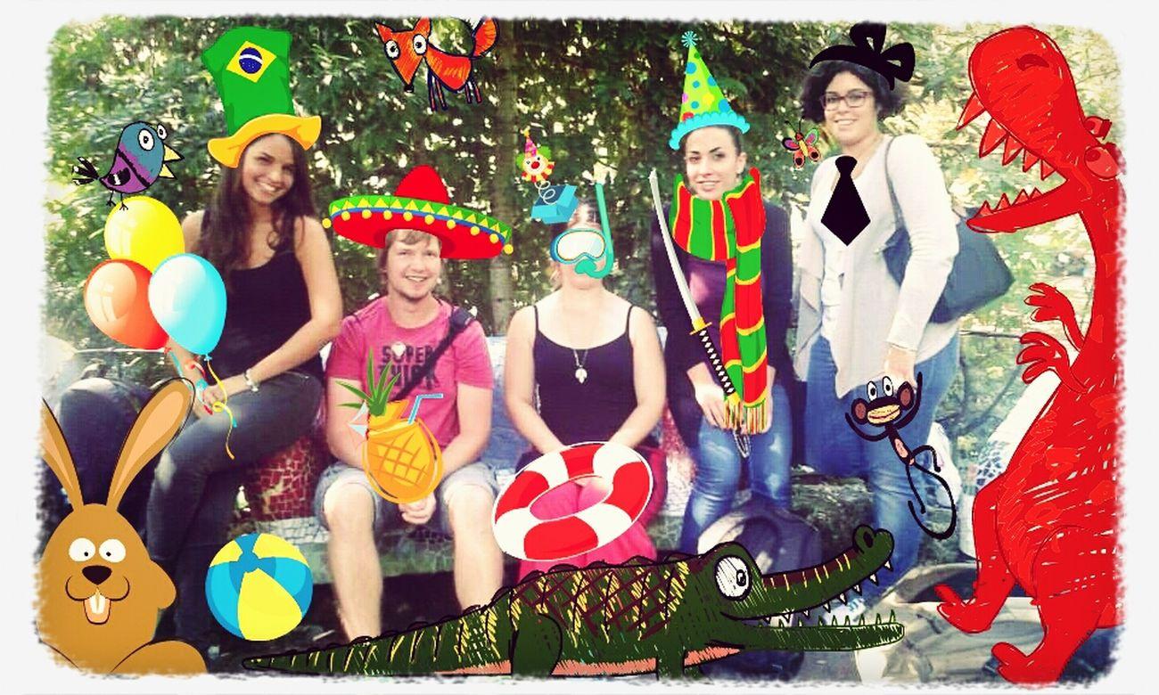 Hello World Studying Erasmus2014 Beautiful Place happy friends ¡amigos locos!