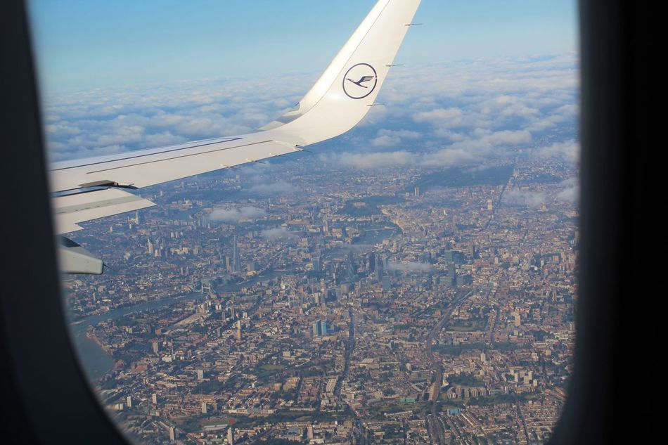 London Lifestyle Aerial View Canon1200d Cityscape Holidays In England Holidays ☀ London From The Sky LONDON❤ Sky From An Airplane Window Flying High
