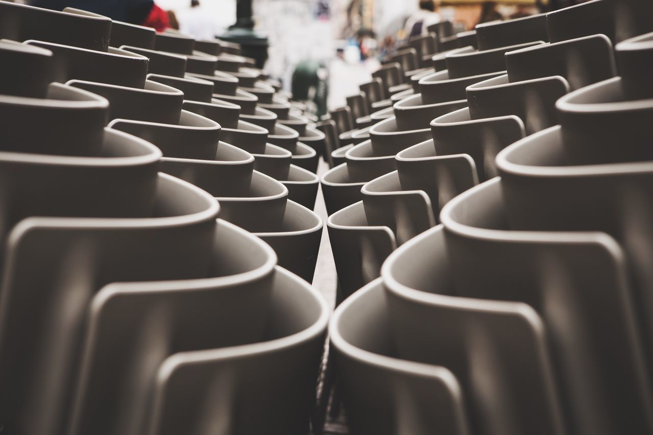 Beautifully Organized Large Group Of Objects Repetition Chair No People EyeEm Gallery EyeEm EyeEmBestPics EyeEm Best Shots Eye4photography  Canon Getting Inspired Torino With You