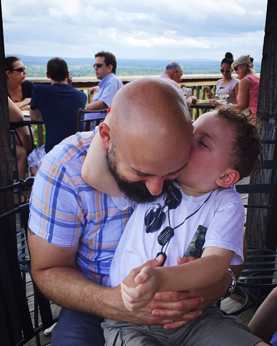 People Together People Together By August 3 2016 Family Father & Son Whataviewthough Views Beautiful Kisses