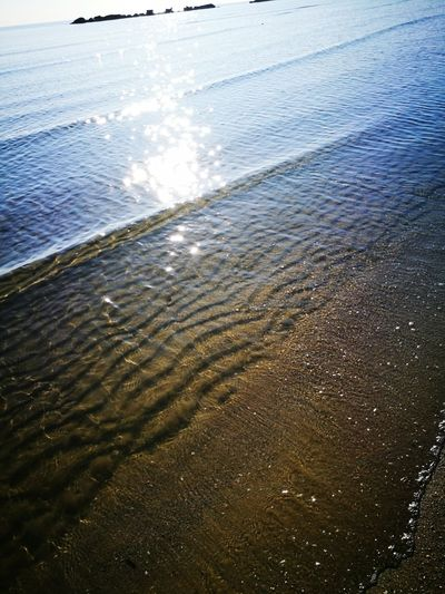 Water Sea Beauty In Nature Nature Sunlight Beach Outdoors No People Day Sand Scenics Wave