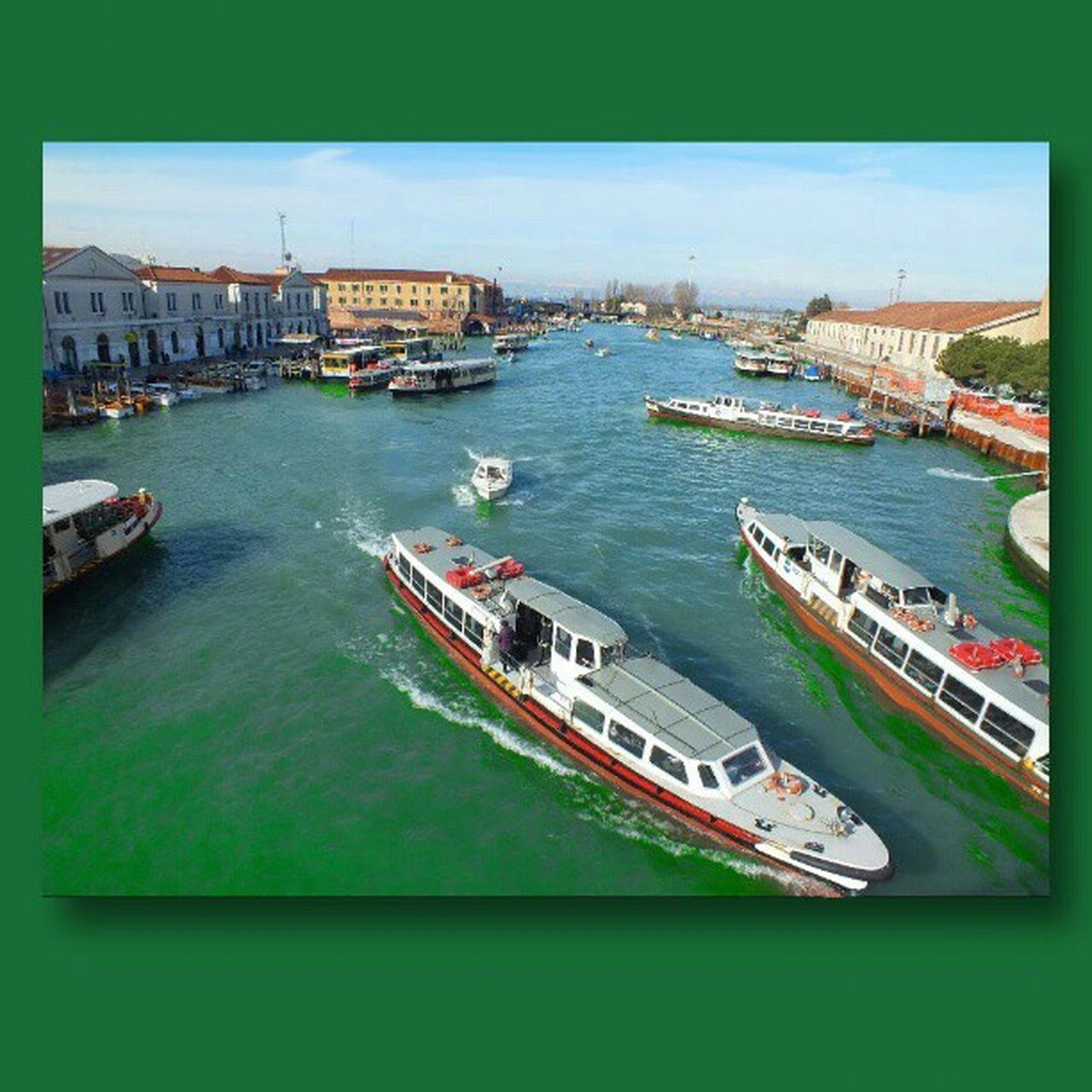 Venice Venezia Venedig Vaporetti boats