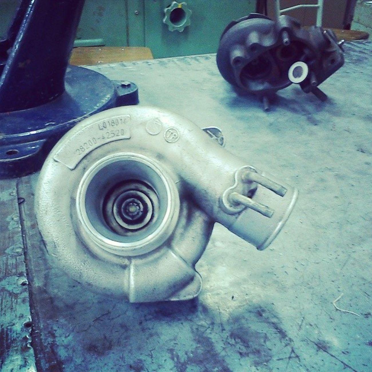 Nada más hermoso que los Motores y este juguetito Turbo Compresor Diesel TurboDiesel Competition