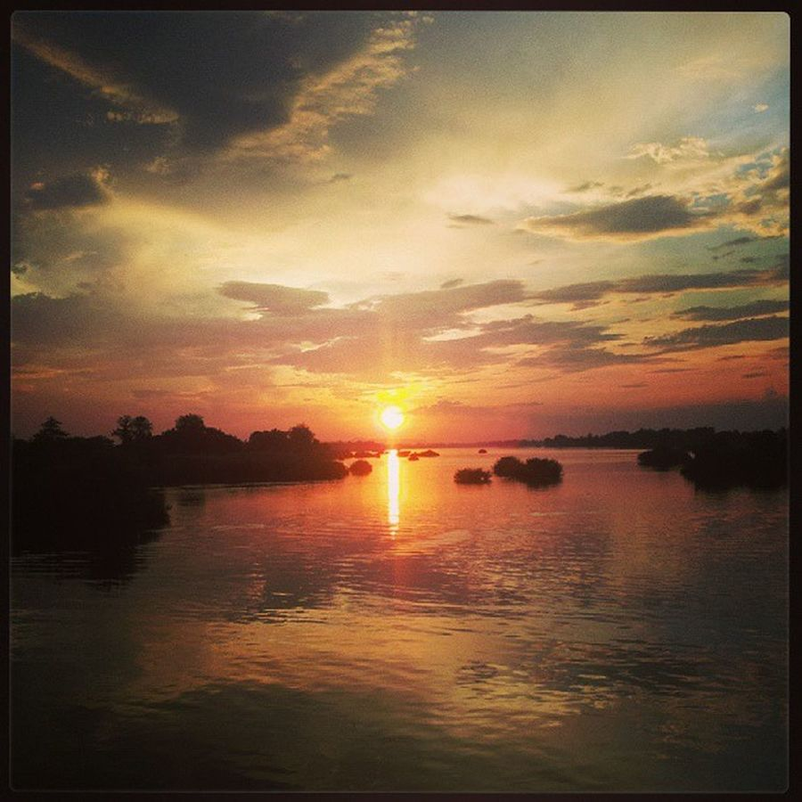 Dondet LAO Loas Sun sonne sunset sonnenuntergang Paradies asia asien mekong delta mekongdelta river fluss beautiful