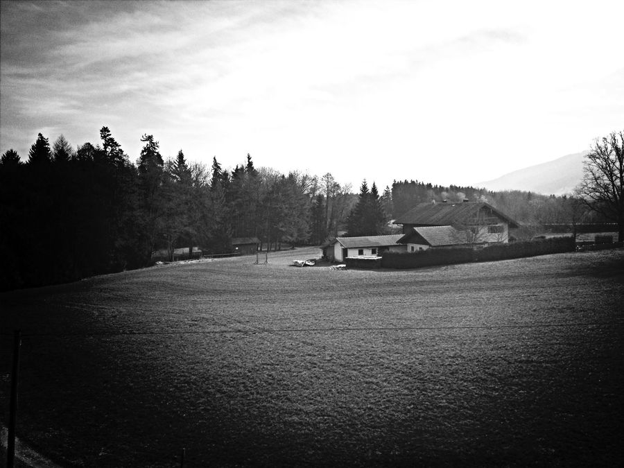 Country Black And White