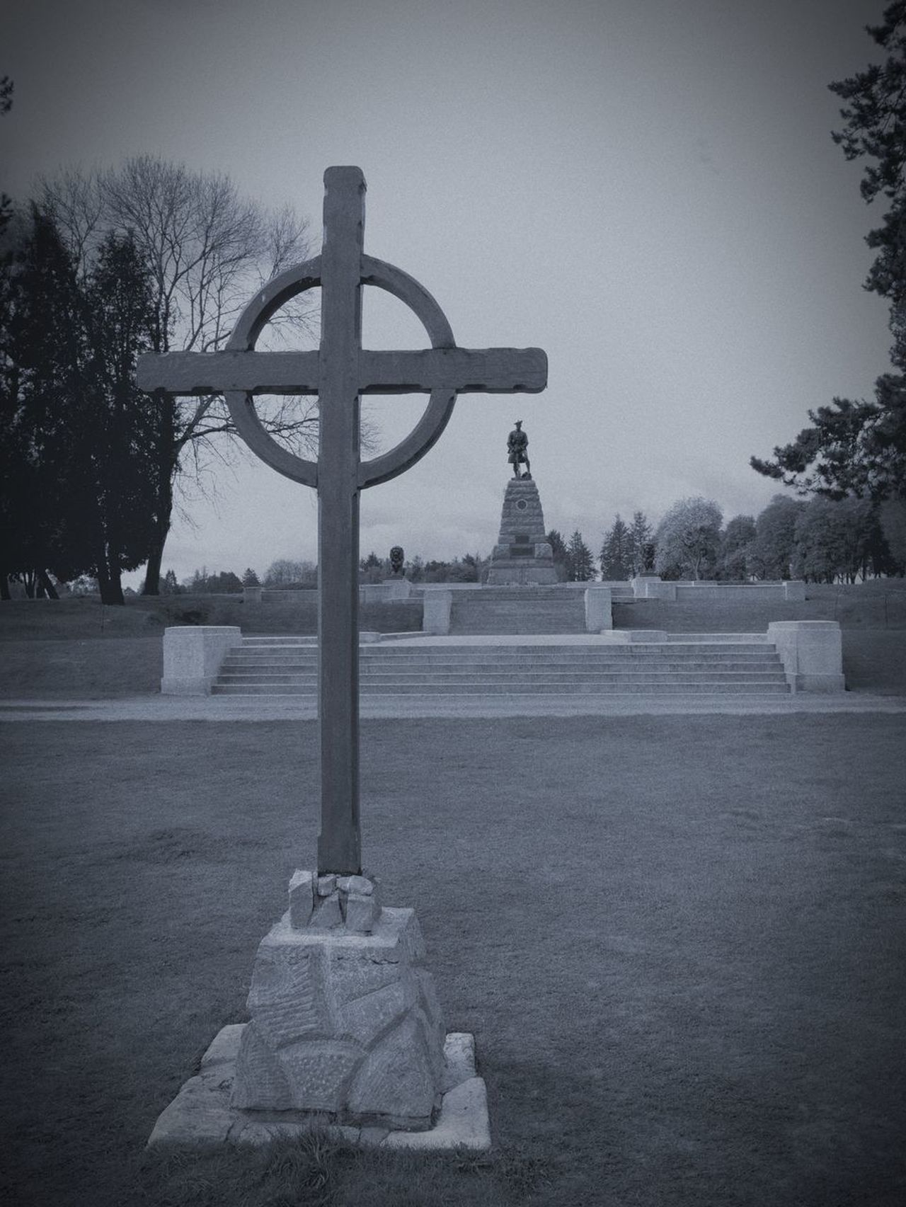 Cross Cross Cemetery Somme Cemetery Ww1 War Memorial Picardy France Beaumont- Hamel Memorial Newfoundland War Memorial