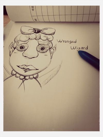 Wronged Wizard 爱画画 First Eyeem Photo