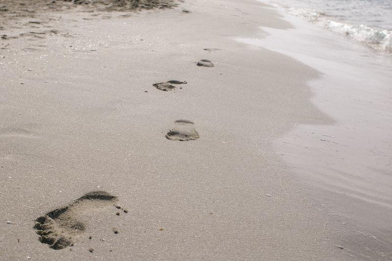 #beach #footprints #footprintsinthesn #ocean #pinksands #sand #sea #summer Formentera Ibiza