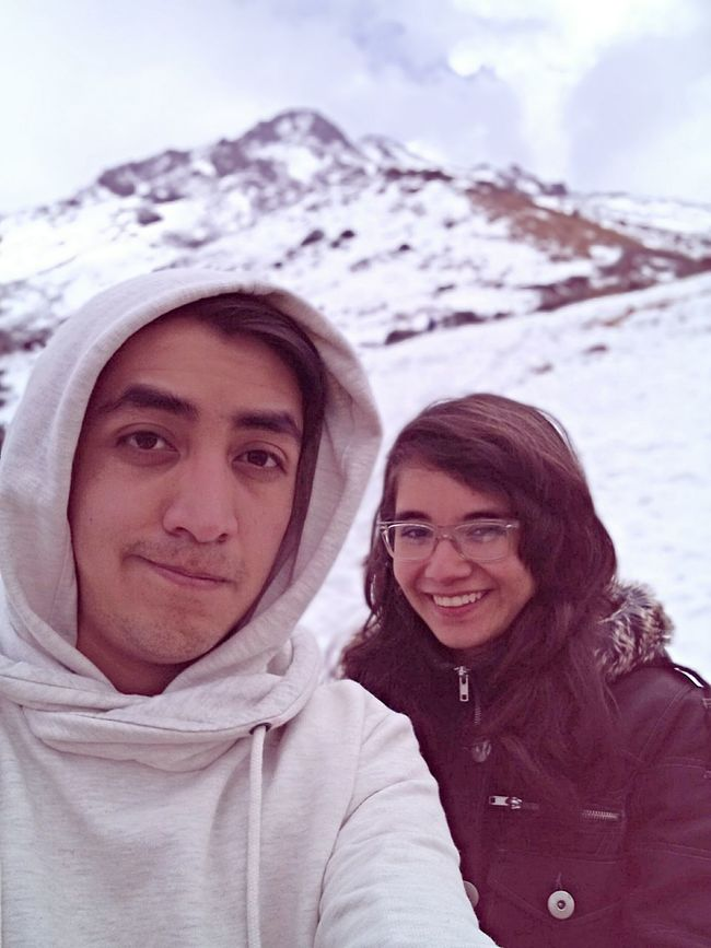 She's perfect Mountain View Taking Pictures With My Girl Walking Around Snow Enjoying Life
