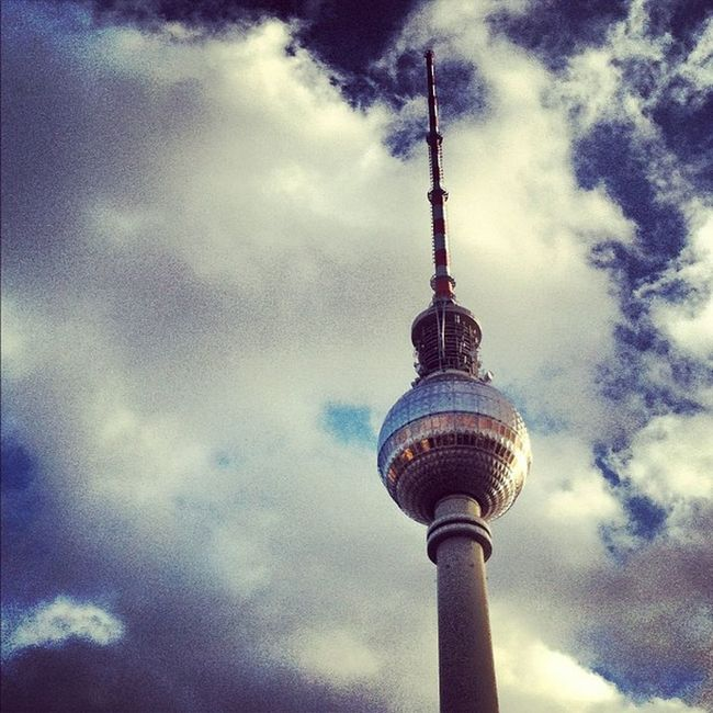 #needle #tower #berlin #berlinphotos #alexanderplatz #sky #blue #clouds #germany #tall #monument #landmark #shopping Germany Alexanderplatz Tower Shiny Landmark Only Instagram Tall Monument Metal Clouds Needle Shopping Berlin 15likes Berlinphotos Sky Igonly Blue