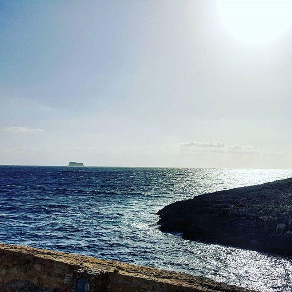 Sunday Afternoon Sea Swimming Enjoyingsummer Island Islandlife South Sunnyday Sun Beautifulday Bluesky Bluewater Travel Placestosee View Seascape Malta