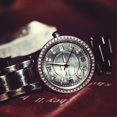 My watch.just a click Taking Photos