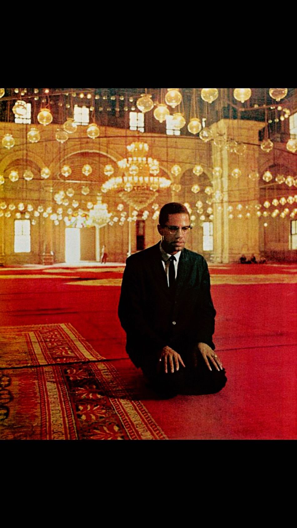 This Is Not My Picture But It's Dope And Black History Month ! So Here Goes My Edit Of Picture Of A Picture . This Was A Step In 2016 Malcolm X Malcomb Little American Islam American Icon HUMANITY