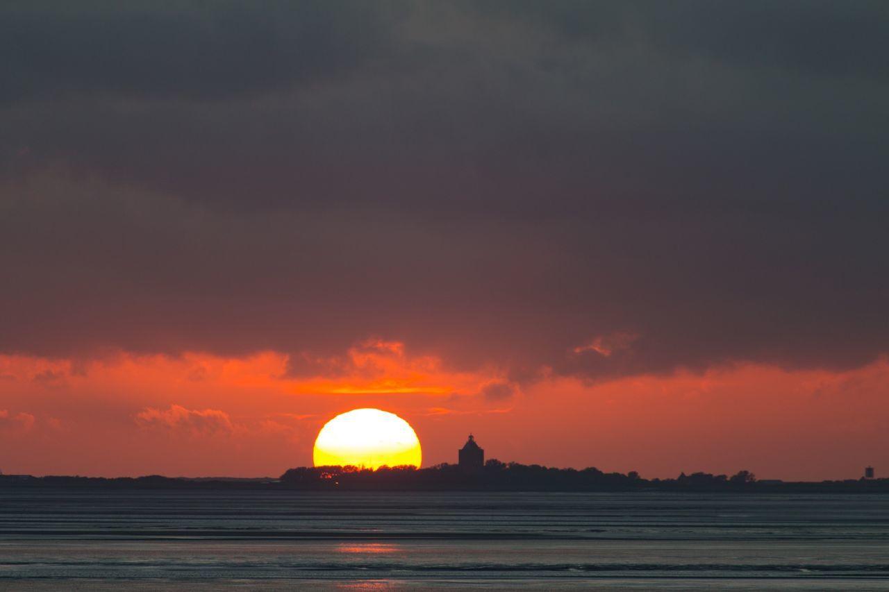Sunset Sunset_collection Sunset Silhouettes Sunsets Neuwerk Island