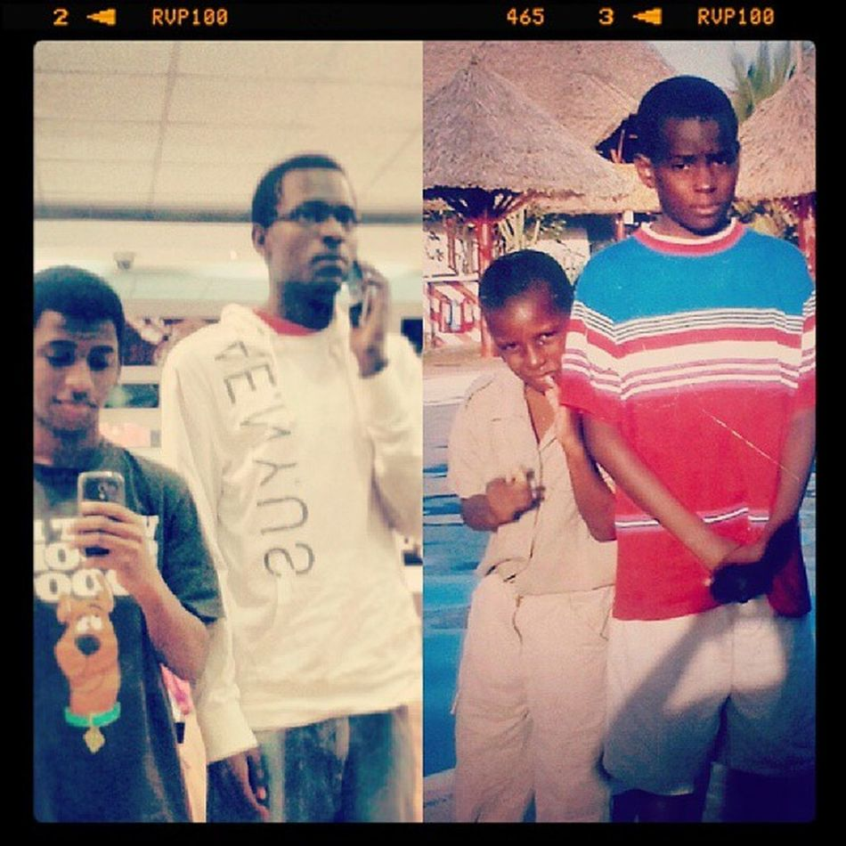 Then and now! .... Throwback Recreate Awesomeness Memories bros...
