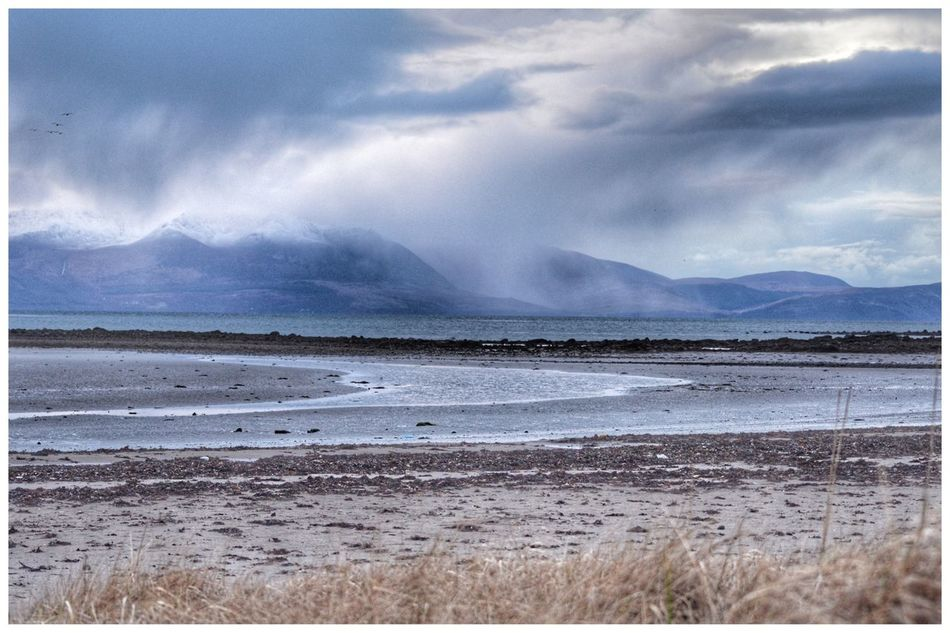 More Arran  Clouds Sea Beach Sky Cloud - Sky Beauty In Nature Nature Water Sand Tranquility No People Scenics Wave Horizon Over Water Outdoors Tranquil Scene Mountain Day Storm Cloud EyeEm Best Shots - Nature EyeEm Gallery EyeEmBestPics EyeEm Eye4photography