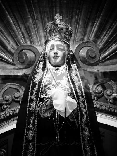 ArteSacro Borgiante Cdmx Church Churches Ciudad De México Mexico Mexico City Sacredart Virgen VirgendelaSoledad Virgin