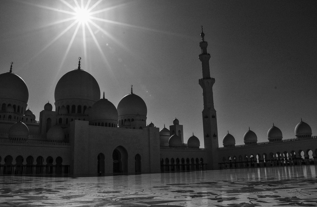 Abu Dhabi Abu Dhabi UAE UAE Travel Destinations Architecture Built Structure Dome Arch No People Outdoors Building Exterior Day City Sky Grandmosque Blackandwhite Black And White Black & White Black And White Photography Blackandwhite Photography Black&white Black And White Collection  Monochrome Monochrome _ Collection First Eyeem Photo