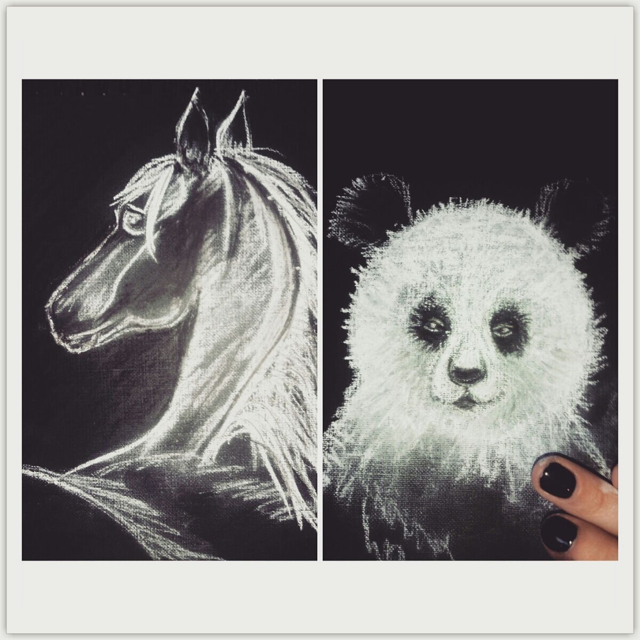 Handmade Pastel Paint Animals