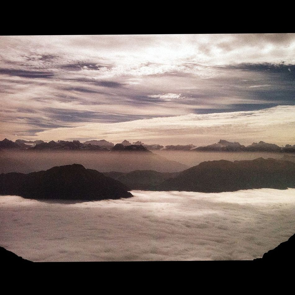 sea of fog... Landscape Mountains Pilatus Switzerland