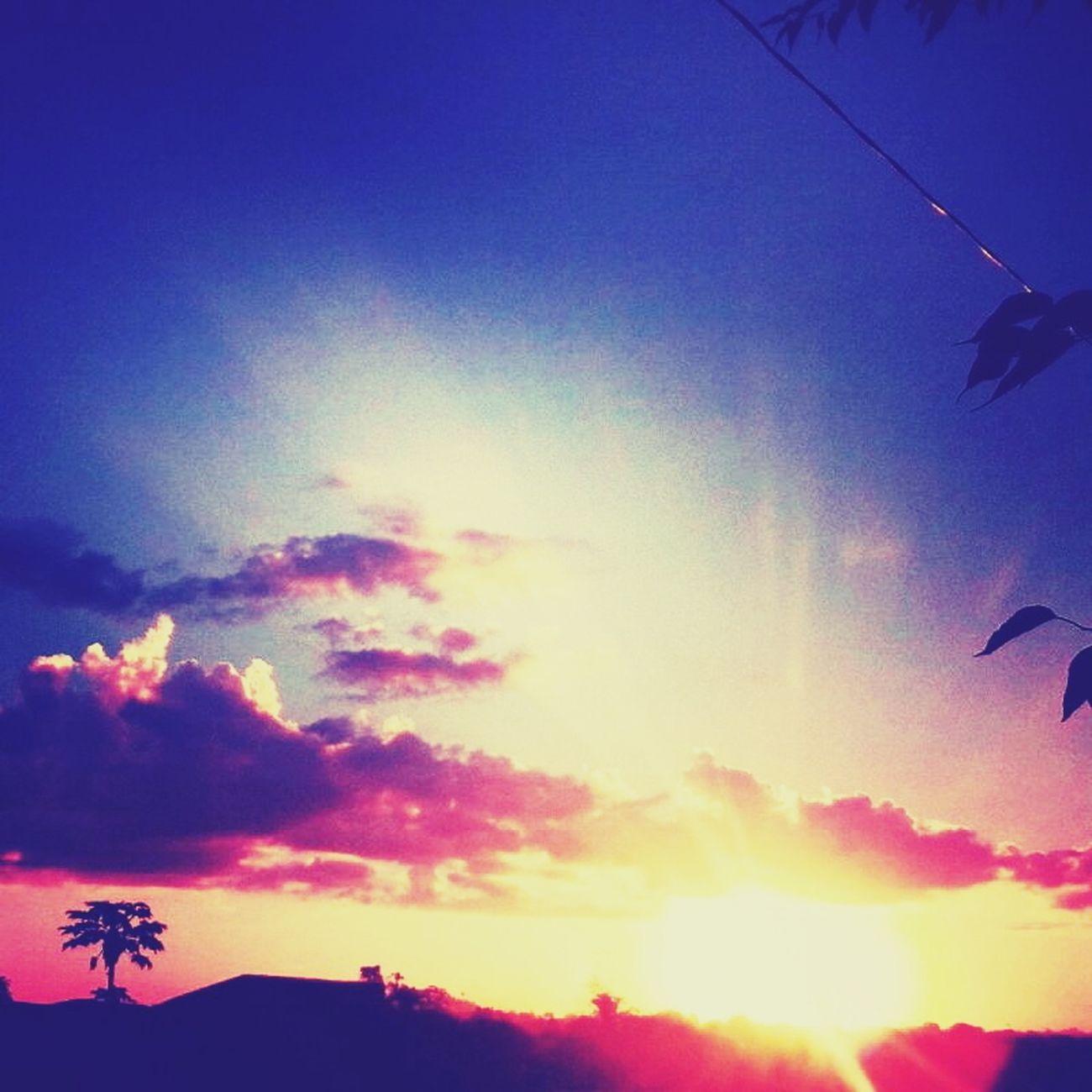 Fim de tarde lindo <3 Hello World Love♡ Brasil ♥ em Tucumã,Brasil