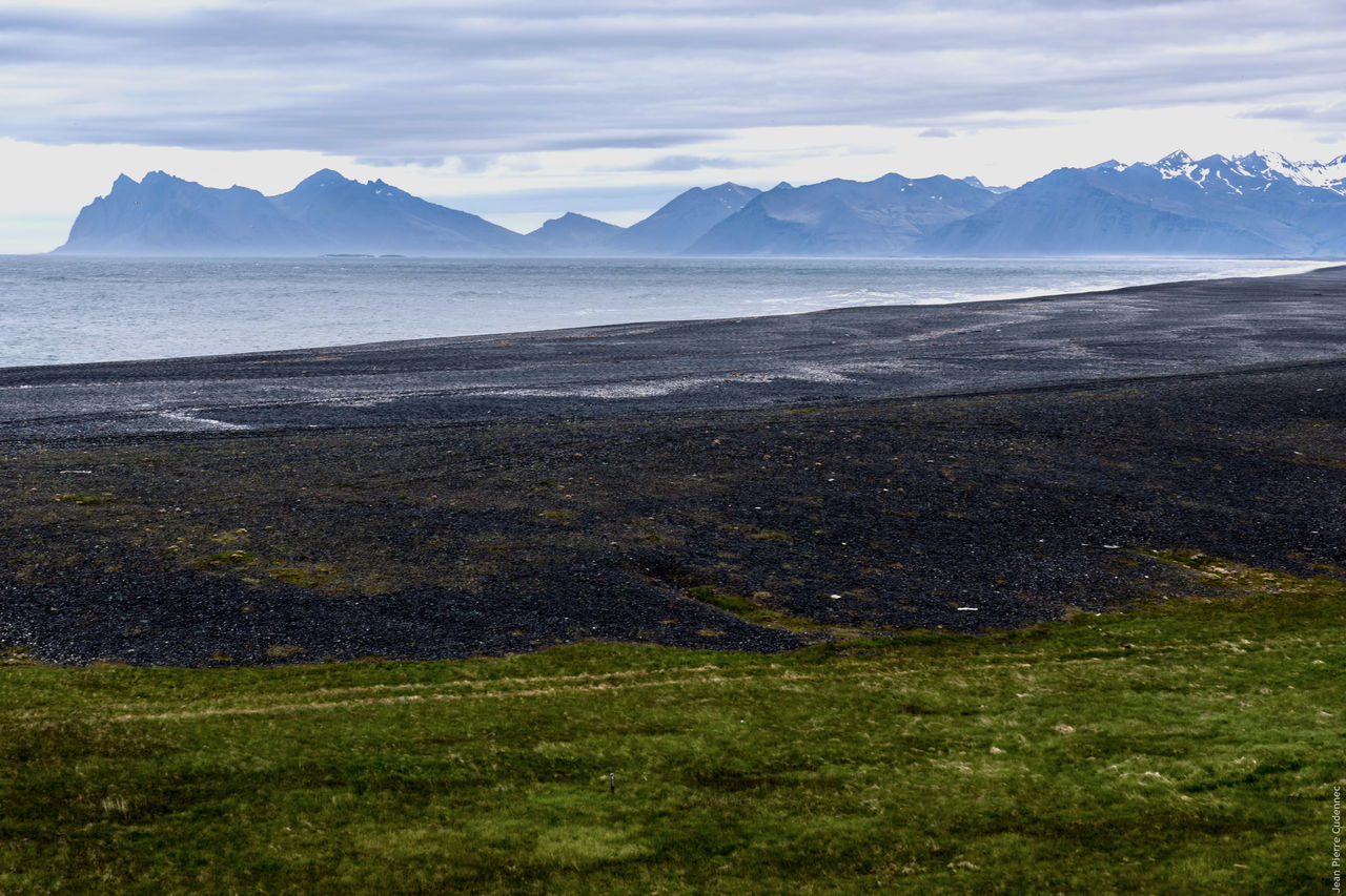 Dans les fjords de l'Est Fjord Islande