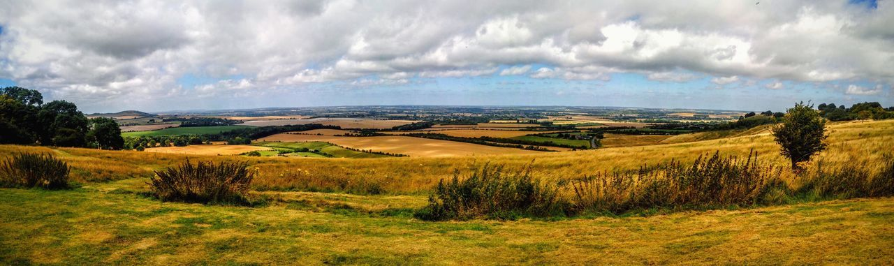 Fine Art Photography Relaxing Countryside Field Cloudscape Landscape Trees Clouds And Sky 43 Golden Moments Clouds Chilterns Zoo Whipsnade Zoo Panorama Color Of Life