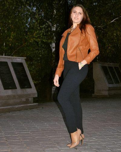 Walking Park Girl Night Nightphotography Bright Light