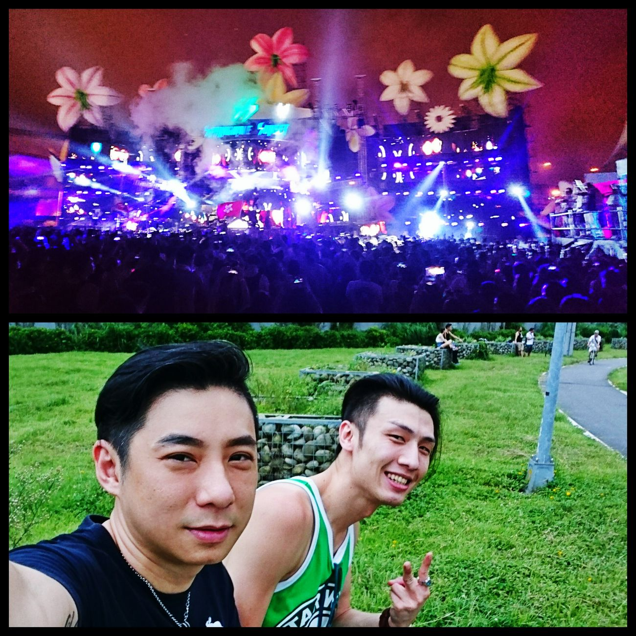 如果沒有友情...真不知道該怎麼撐過來。 Taipei,Taiwan Dimitri Vegas & Like Mike DVBBS Party Time