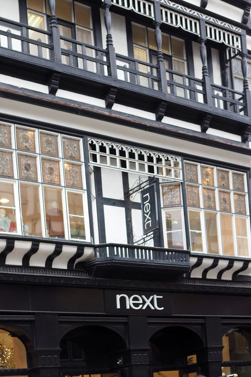 Architecture City Window Day Outdoors Next Text No People Low Angle View Building Exterior Built Structure Elizabethan Architecture A Taste Of Chester, UK Glorious Cheter Galleried Shops