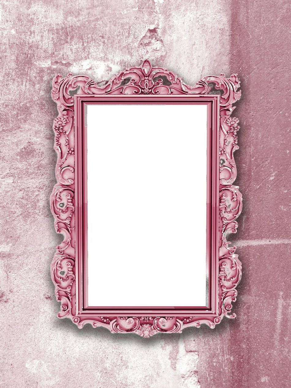 Shabby chic frame for print on artwork display Shabby Chic Frame Pink Monochrome Blogphotography Product Photography Print Presentation Pattern, Texture, Shape And Form Digital Background Mirror Baroque