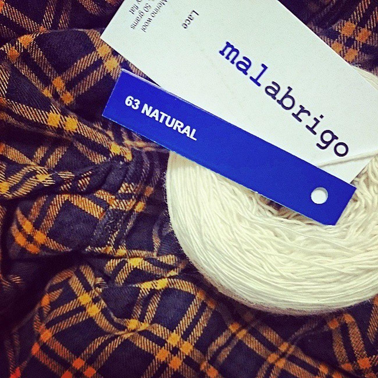 Yarn cake??? yummy Malabrigo  Malabrigolace