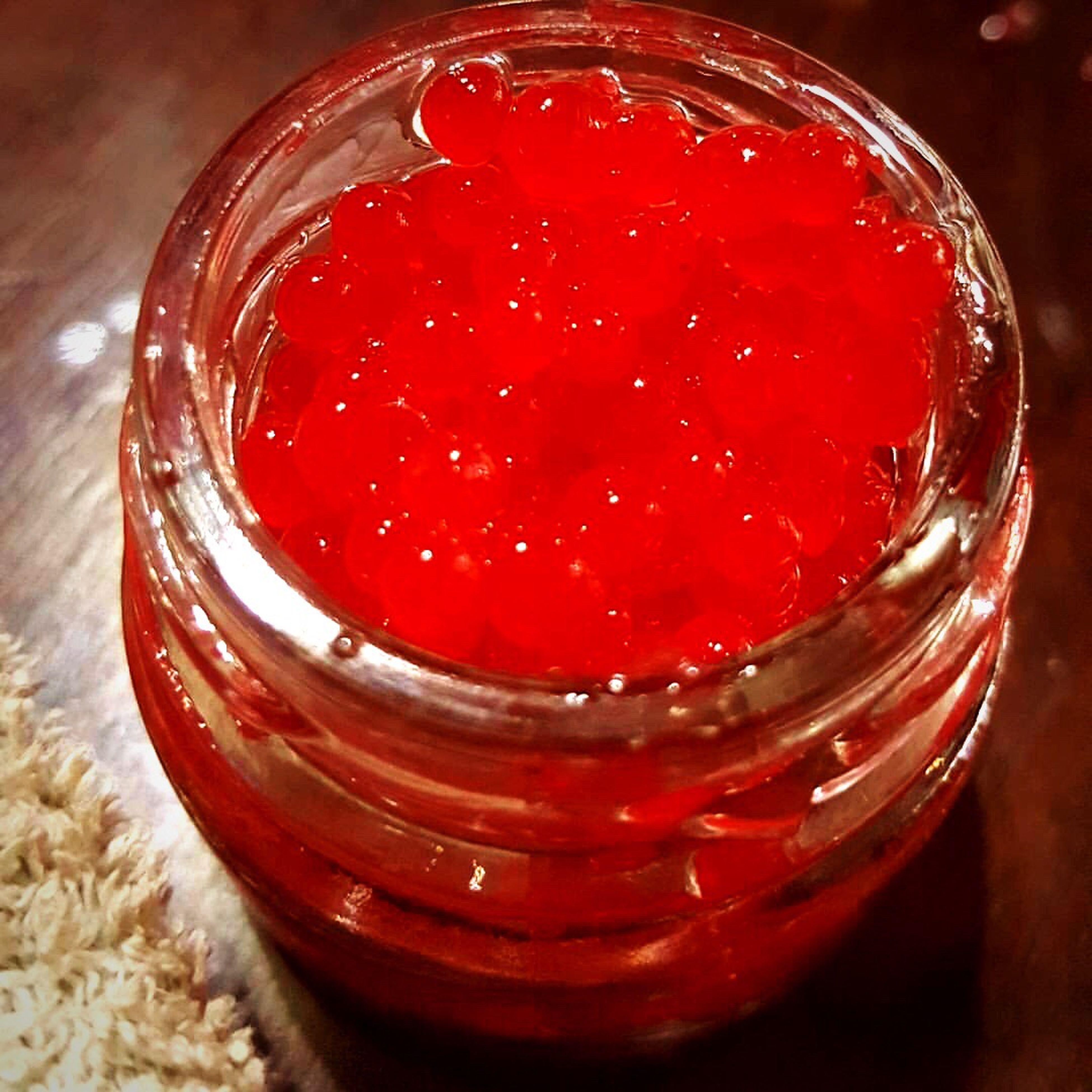 F. Caviar de FRAMBUESAS con Tabasco. by SABORES Deli Red Sweet Food Food Red Color Caviar Sabores Delicatessen Calidadenserio